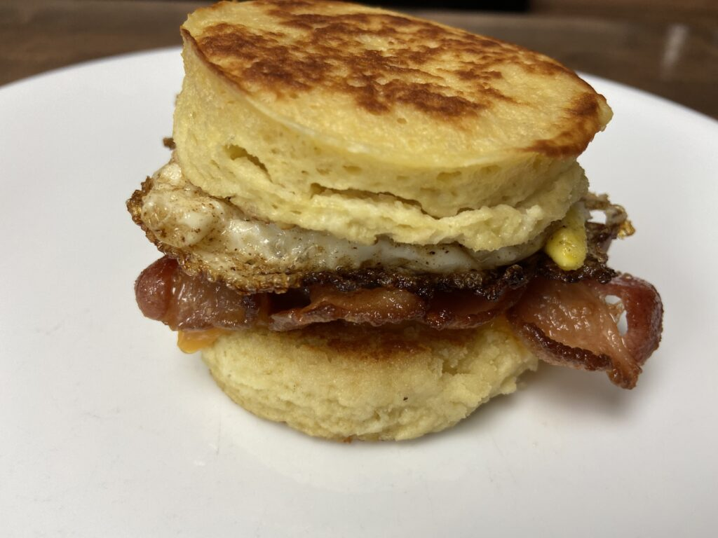 Picture of Keto breakfast sandwich